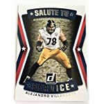 e38d89be3 2017 Donruss Salute to Service Football  5 Alejandro Villanueva NM M (Near.
