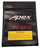 JUMBO Fire Resistant Lipo Battery Bag for Safe Charging & Storage - 230mm x 300mm - Apex RC Products #8080