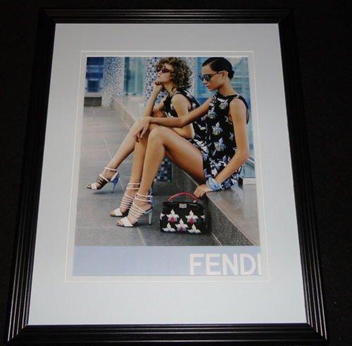 Fendi Heels Handbags 2015 11x14 Framed ORIGINAL Advertisement