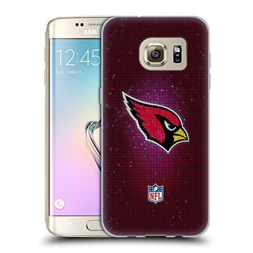 Official NFL LED 2017/18 Arizona Cardinals Soft Gel Case for Samsung Galaxy S7 ()
