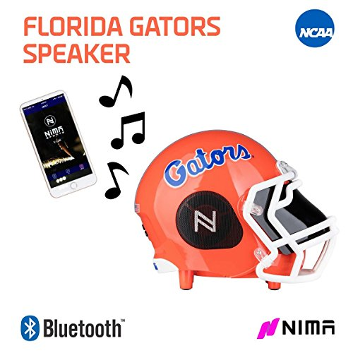 Florida Gators Spring Ncaa (Nima Athletics NCAA Football Florida Gators Wireless Bluetooth Speaker. Officially Licensed Portable Helmet Speaker by NCAA College Football - Medium)