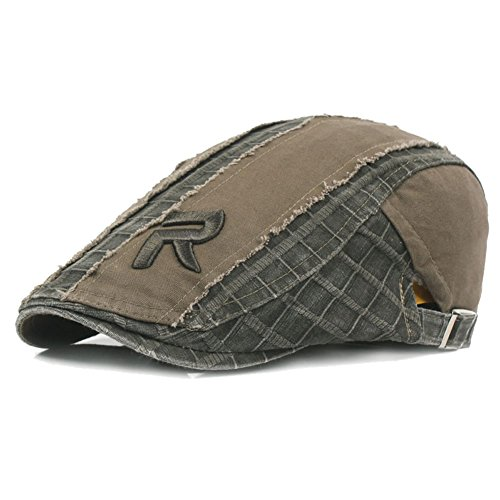 a506259477e31 Cotton Gatsby Newsboy Hunting Driving. Review - Men's Cotton Flat Snap Hat  Ivy Gatsby Newsboy Hunting Cabbie Driving Cap