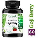 Goji Berry – Anti-Aging & Skin Health – Supports Immune System Function, Liver Detox, Increased Energy, Helps Stabilize Blood Sugar – Emerald Laboratories (Fruitrients) – 60 Vegetable Capsules Review