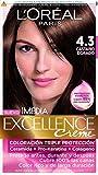 L'Oréal Paris Imedia Excellence Tinte para Cabello, Tono 4.3 Castaño Dorado