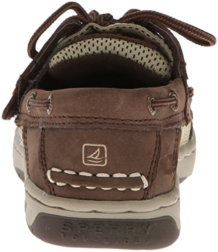 Sperry Billfish Jr Boat Shoe (Toddler/Little Kid) Chocolate