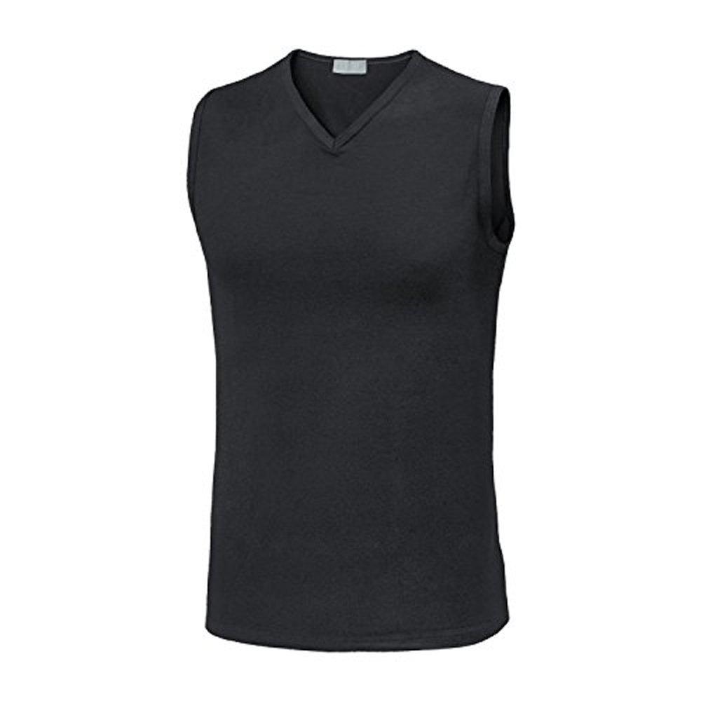 3 smanicato spalla larga uomo scollo a punta cotone elasticizzato LIABEL 03858/253