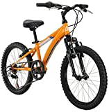 "Diamondback Bicycles Cobra Kid's Mountain Bike, 20"" Frame, Orange"