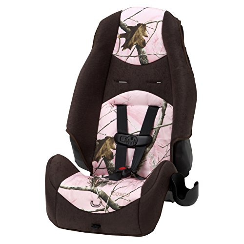 Cosco - Highback 2-in-1 Booster Car Seat - 5-Point Harness or Belt-positioning - Machine Washable Fabric, Realtree from Cosco