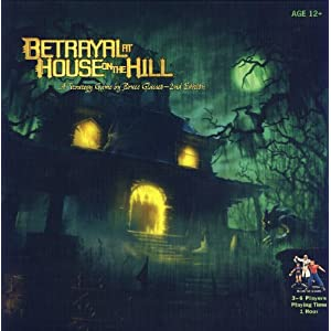 Betrayal At House On The Hill - 2nd Edition - 513Iw7EZ4pL - Betrayal At House On The Hill
