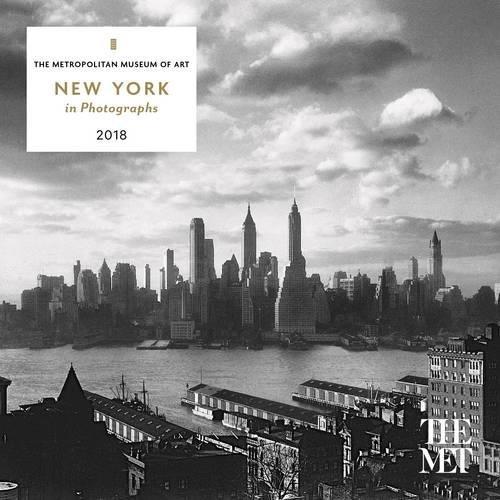 New York in Photographs 2018 Mini Wall Calendar