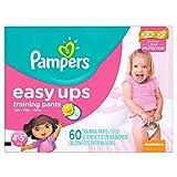 Pampers Girls Easy Ups Training Underwear 4T-5T