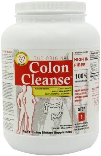 Health Plus Colon Cleanse, Regular Jar, 48 Ounce, Health Care Stuffs
