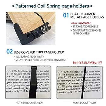 BestBookStand Nice Production INP-103-O Book Stand (Bookstand / Bookstands / Holder / Cookbook / Music)