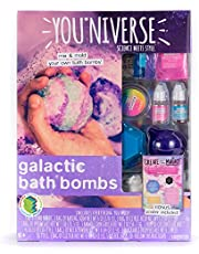 Youniverse Galactic Bath Bomb by Horizon Group USA, DIY Bath Bomb Making Kit, Make 5 Fizzing Bath Bombs