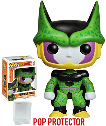 (Funko Pop! Anime: Dragon Ball Z - Perfect Cell Vinyl Figure (Bundled with Pop BOX PROTECTOR CASE))