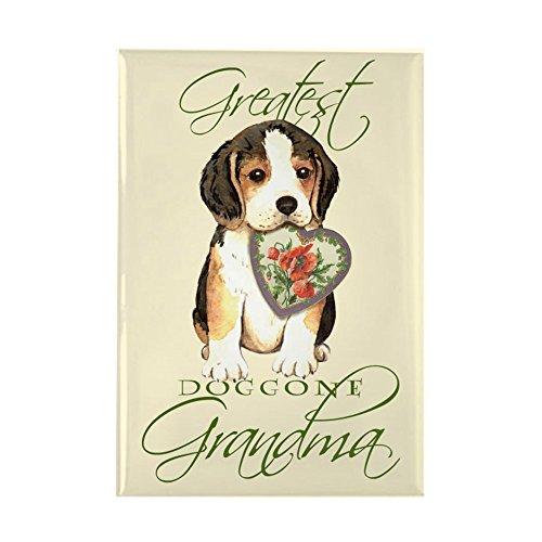 CafePress Beagle Grandma Rectangle Magnet Rectangle Magnet, 2