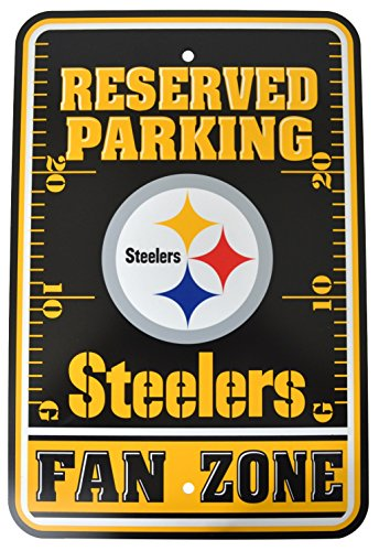 Fremont Die Official National Football League Fan Shop Authentic NFL Parking Sign (Pittsburgh ()