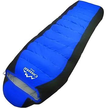 Al aire libre Bolsas de dormir Pluma / pato abajo Invierno Más grueso Camping -20 calor Camping Bolsas de dormir 2300 g , blue: Amazon.es: Deportes y aire ...