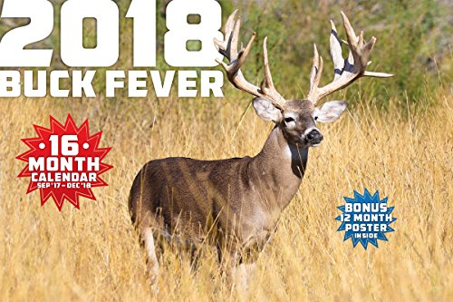 2018 BUCK FEVER WALL CALENDAR