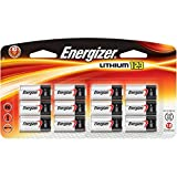 Energizer Photo Battery, Cell Size, 123, 12-Count ( Package may vary )