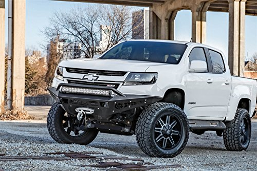 - Addictive Desert Designs F357382720103 HoneyBadger Front Bumper for Chevy Colorado