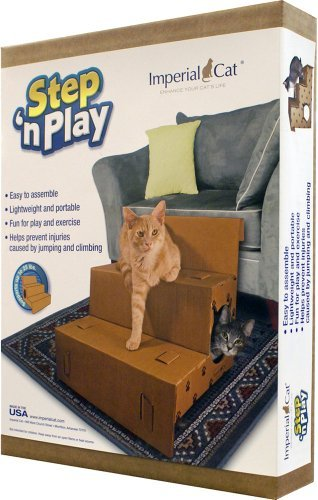Imperial Cat Step and Play Pet Steps New