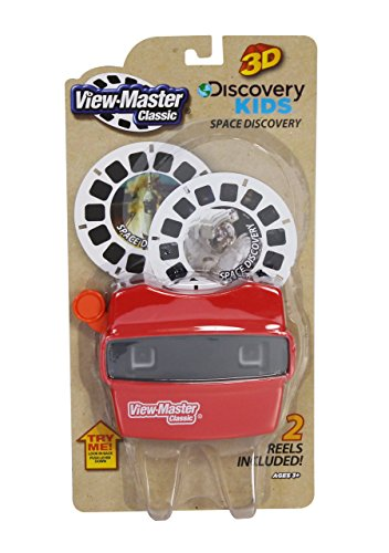 (View Master Classic Viewer with 2 Reels Space Discovery Toy Package May Vary)