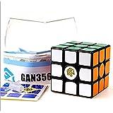 Kingcube Gans 356s V2 3x3 Black magic cube Ganspuzzle 356S With Golden Logo 3x3x3 speed cube puzzle