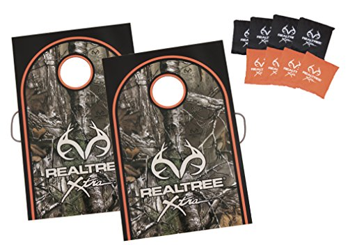 (Triumph RealTree Tournament Outdoor Bag Toss Game Includes Eight 6