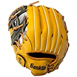 Franklin Sports Field Master Series Baseball Gloves, 11', Left Hand Throw