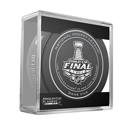 2014 NHL Stanley Cup Finals Playoff Sherwood Official Game Puck - Game Five