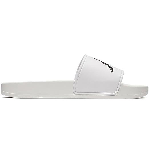 7c8164f4 Amazon.com: Kappa Authentic Adam 2 Slides - White/Black - 10.0: Clothing