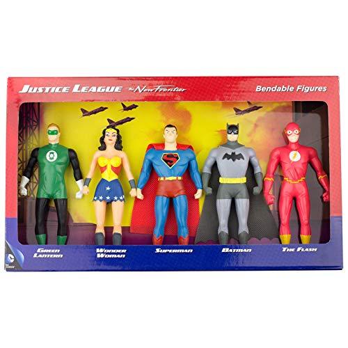 NJ Croce Justice League: The New Frontier Bendable Boxed Set (5 Piece)