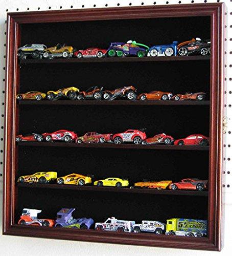 Diecast Display Case Wall Rack Cabinet Hinged Door (196 Eyeglasses)