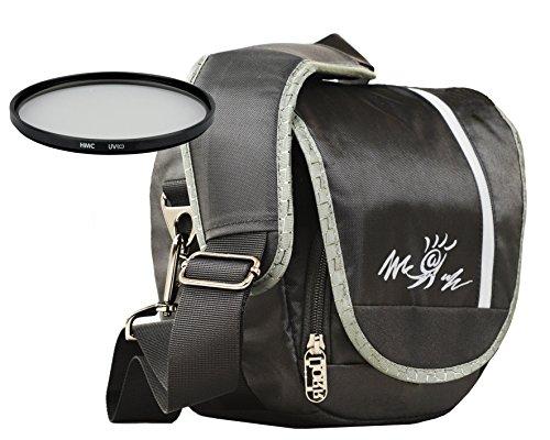 Foto Kamera Tasche Miami Colt + Kamera UV Filter 55mm für Sony Alpha 7 R II B mit Objektiv SEL 28-70mm KB