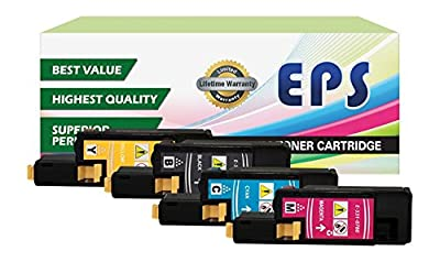 EPS Replacement Dell 1250c 1350cnw 1355cn High Yield Black Toner Cartridges
