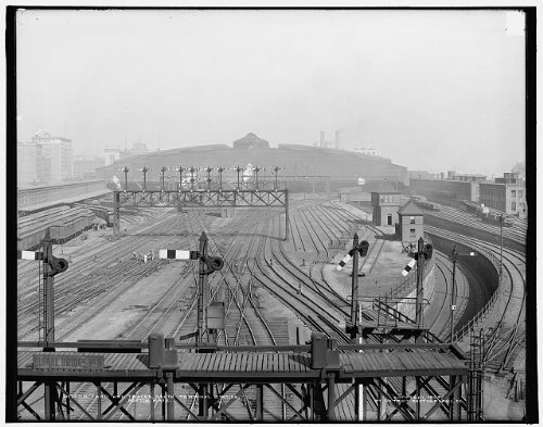 Photo: Yard,tracks,South Terminal - Boston Terminal Map