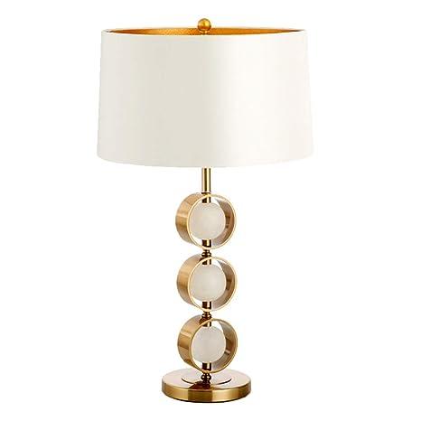 Lámpara de mesa lámpara de mesa de hierro forjado dormitorio ...