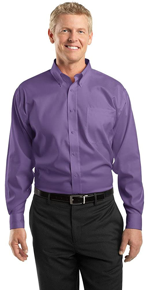 Red House Mens Non-Iron Pinpoint Oxford