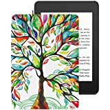 TiMOVO Case for Kindle Paperwhite 2018 (10th Generation) - Slim Lightweight PU Leather Smart Cover with Auto Wake/Sleep Function for Amazon Kindle Paperwhite E-Reader, Lucky Tree