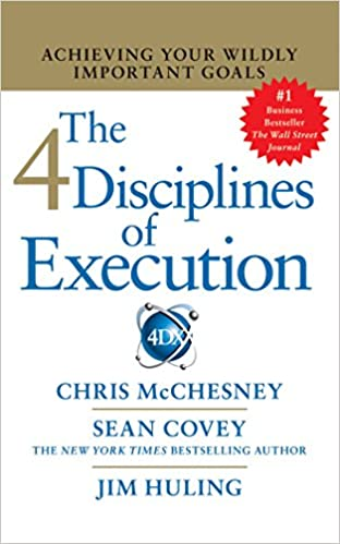 Amazon Stephen R Coveys The 4 Disciplines Of Execution The