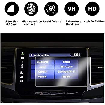 """2015-2018 Ford F-150/250V 350 450 sync2 sync3 Screen Protector,Tempered Glass Screen Protector for Ford,Wonderfulhz,Anti Fingerprint,High Definition,Ford 8/"""" Car Center Touch Screen Protector"""