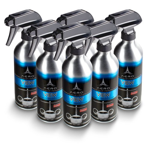 Aero 5688 View Interior/Exterior Glass and Surface Cleaner - 16 oz. by Aero