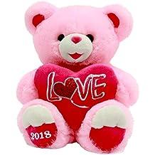 Valentines Day Gift Plush Teddy Bear 2018 (Pink Love)