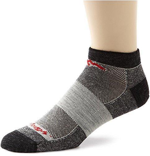 矛盾する連隊なすDarn Tough Merino Wool Run/Bike No Show Ultralight Socks - Men's Charcoal 2X-Large [並行輸入品]
