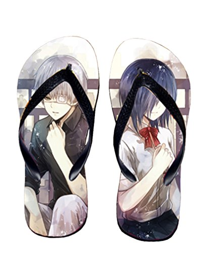 Bromeo Tokyo Ghoul Anime Unisex Flip Flops Chanclas 55