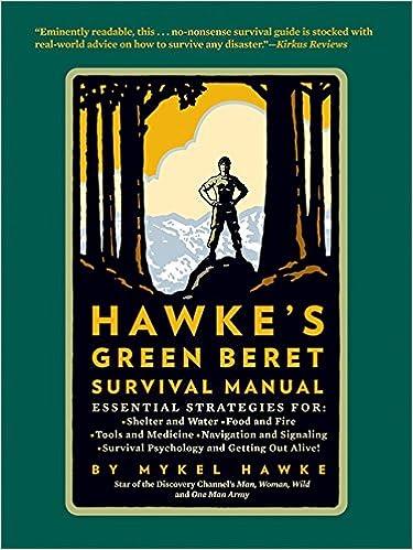 mykel hawke s green beret survival manual