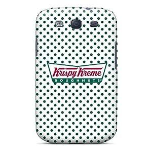 Protective Hard Phone Cover For Samsung Galaxy S3 (tub29335gwLm) Customized Nice Krispy Kreme Doughnuts Image