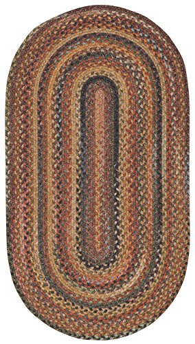 Capel Rugs Kill Devil Hill Oval Braided Area Rug, 2 x 3 , Multicolor