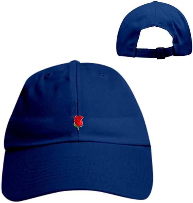 1d03a48e0a4 SINGLE ROSE Hat dad hat hipster emoji coachella unif tumblr cap supreme  fashion - Multi -  Amazon.co.uk  Clothing